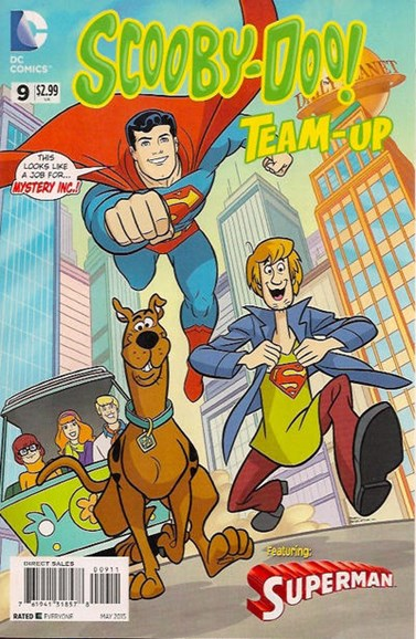 Scooby- Doo Team Up Cover - 5/1/2015