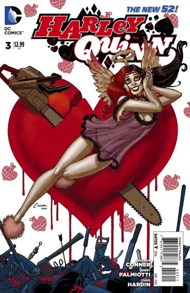 Harley Quinn Cover - 4/1/2014