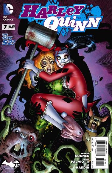 Harley Quinn Cover - 8/1/2014