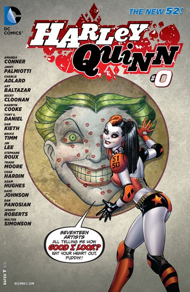 Harley Quinn Cover - 1/1/2014