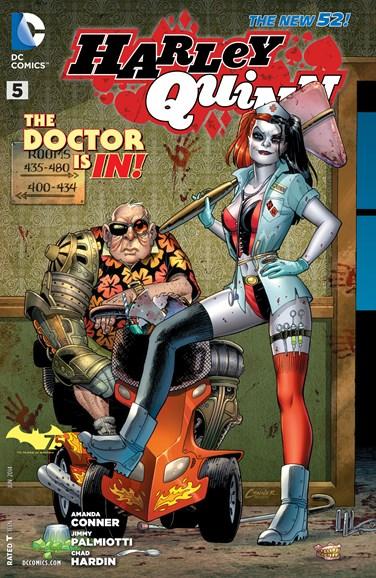 Harley Quinn Cover - 6/1/2014