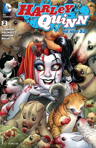 Harley Quinn Cover - 3/1/2014