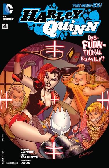 Harley Quinn Cover - 5/1/2014