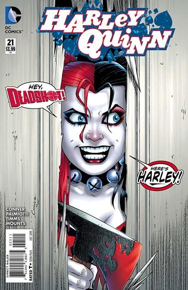 Harley Quinn Cover - 12/1/2015