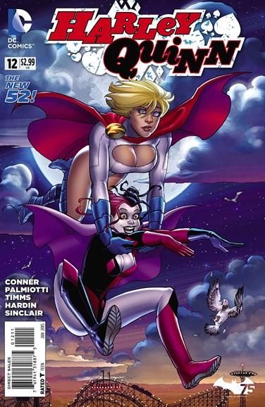 Harley Quinn Cover - 1/1/2015