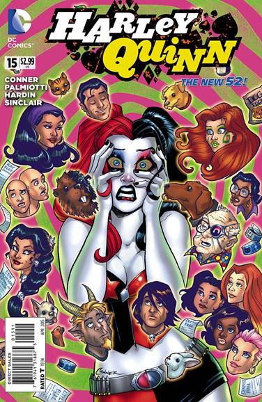 Harley Quinn Cover - 5/1/2015