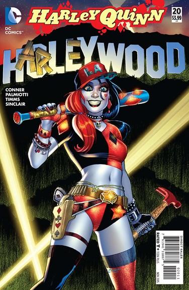Harley Quinn Cover - 11/1/2015