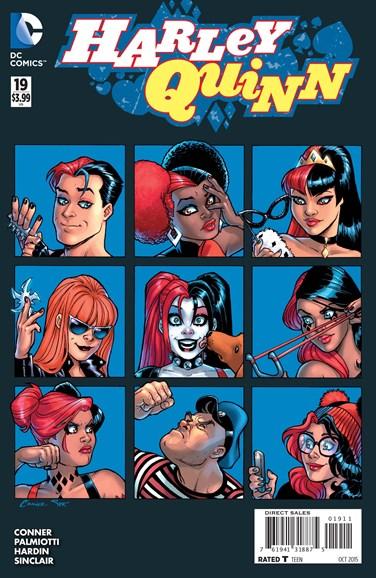 Harley Quinn Cover - 10/1/2015