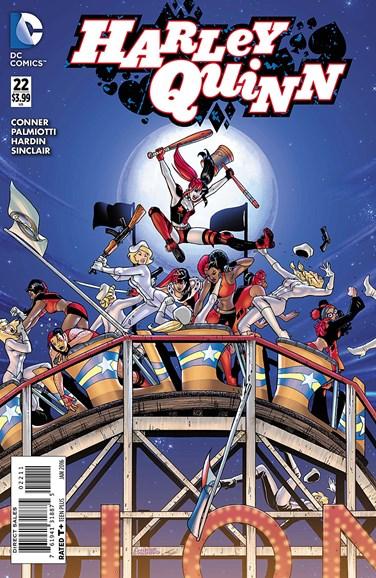 Harley Quinn Cover - 1/1/2016