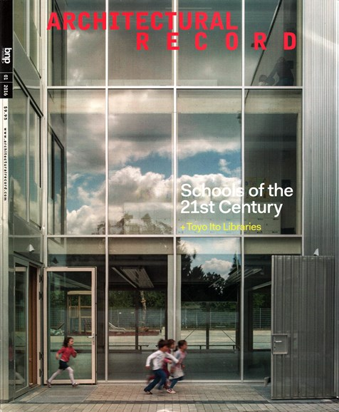 Architectural Record Cover - 1/1/2016