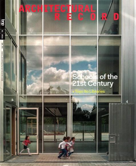 Architectural Record Cover - 1/1/2016