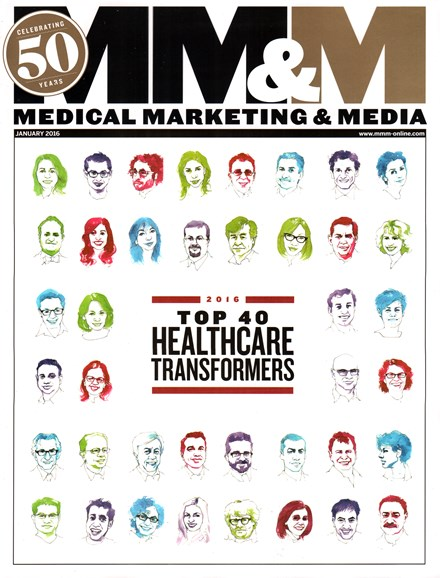Medical Marketing & Media Cover - 1/1/2016