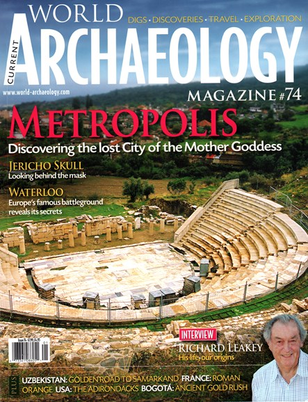 Current World Archaeology Cover - 12/1/2015