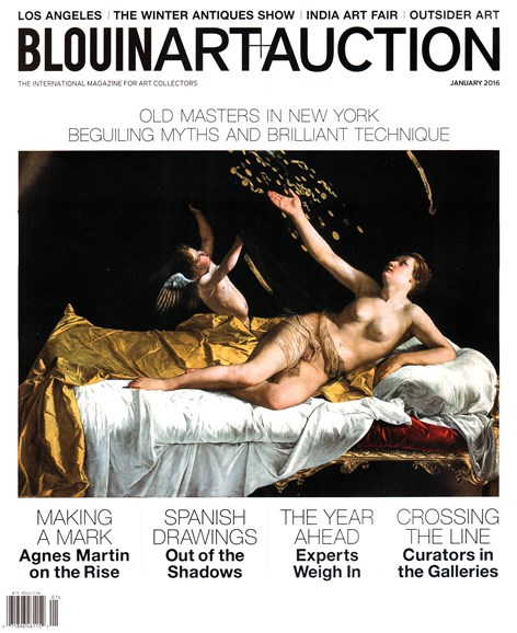 Blouin Art & Auction Cover - 1/1/2016