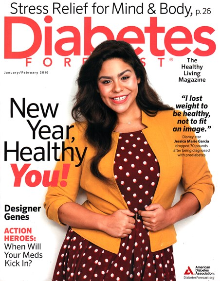 Diabetes Forecast Cover - 1/1/2016