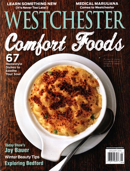 Westchester Magazine Cover - 1/1/2016