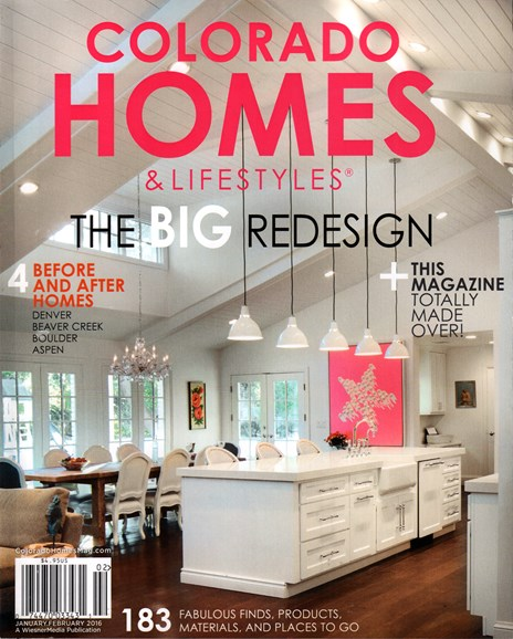Colorado Homes & Lifestyles Cover - 1/1/2016