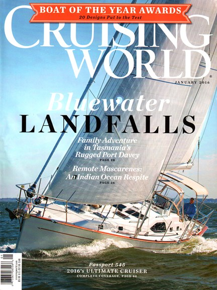 Cruising World Cover - 1/1/2016