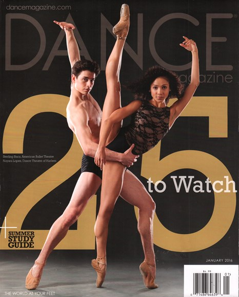 Dance Magazine Cover - 1/1/2016