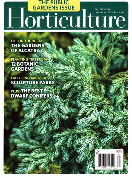 Horticulture Cover - 1/1/2016