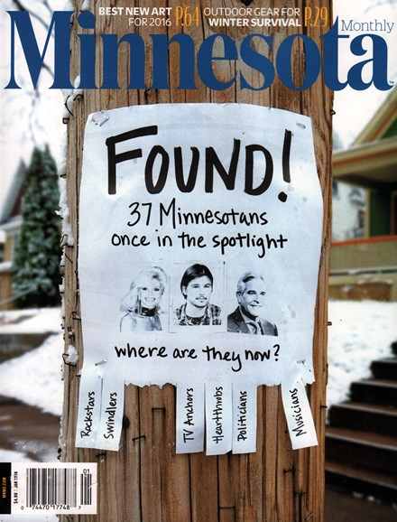 Minnesota Monthly Cover - 1/1/2016