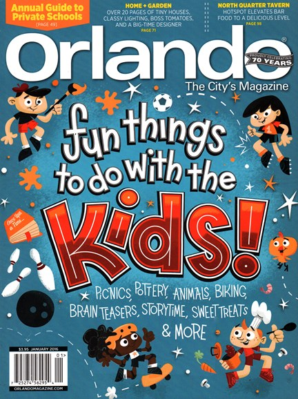 Orlando Magazine Cover - 1/1/2016