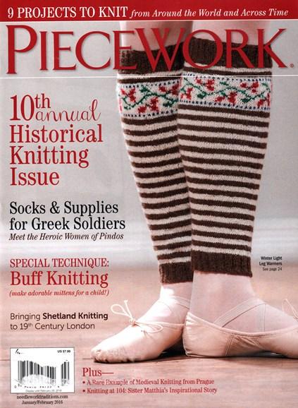 Piecework Cover - 1/1/2016