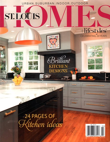St. Louis Homes & Lifestyles Cover - 1/1/2016