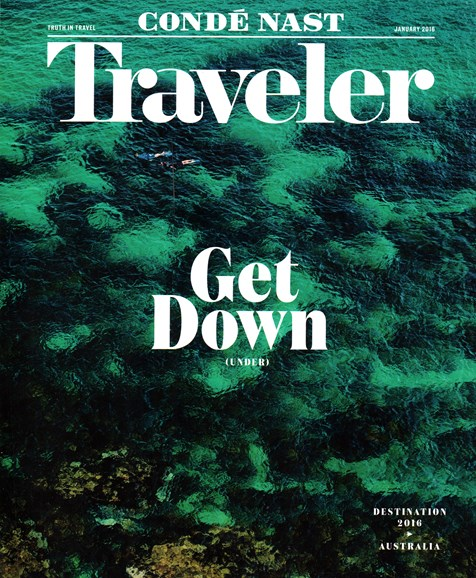 Condé Nast Traveler Cover - 1/1/2016