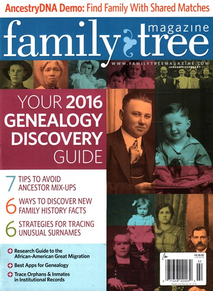 Family Tree Cover - 1/1/2016