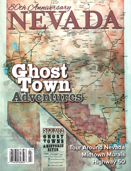 Nevada Magazine Cover - 1/1/2016