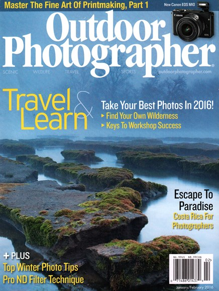 Outdoor Photographer Cover - 1/1/2016
