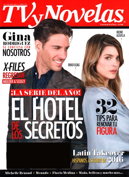 Tv Y Novelas Cover - 1/1/2016