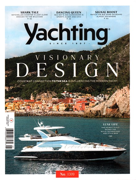 Yachting Cover - 1/1/2016