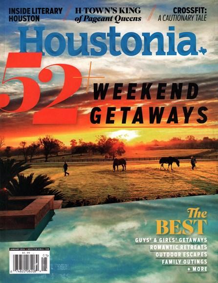 Houstonia Cover - 1/1/2016