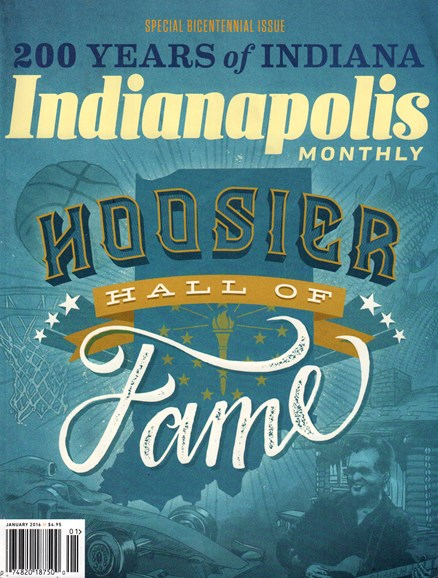 Indianapolis Monthly Cover - 1/1/2016
