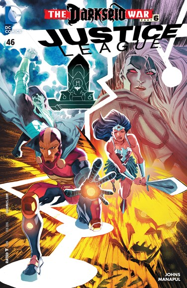 Justice League Cover - 2/1/2016