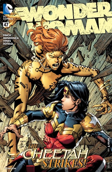 Wonder Woman Cover - 2/1/2016