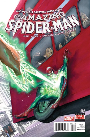 Amazing Spider-Man Cover - 2/15/2016