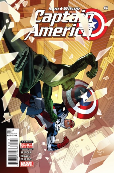 Captain America Cover - 2/1/2016
