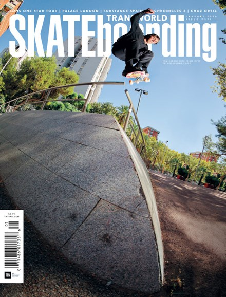 Transworld SKATEboarding Cover - 1/1/2016