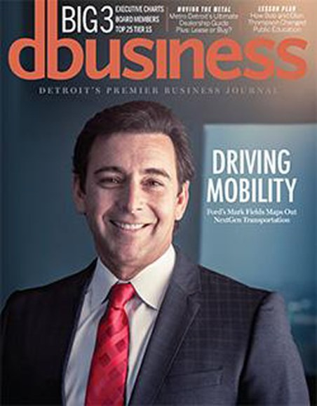 DBusiness Cover - 1/1/2016