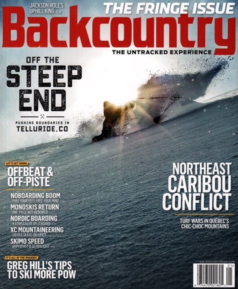 Backcountry Cover - 1/1/2016
