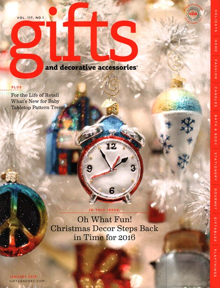Gifts And Decorative Accessories Cover - 1/1/2016