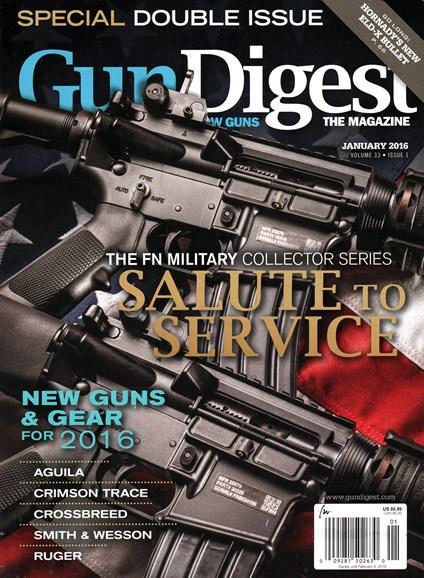 Gun Digest Cover - 1/1/2016
