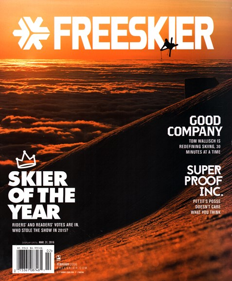 Freeskier Cover - 2/1/2016