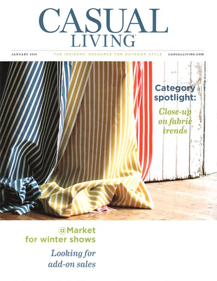 Casual Living Cover - 1/1/2016