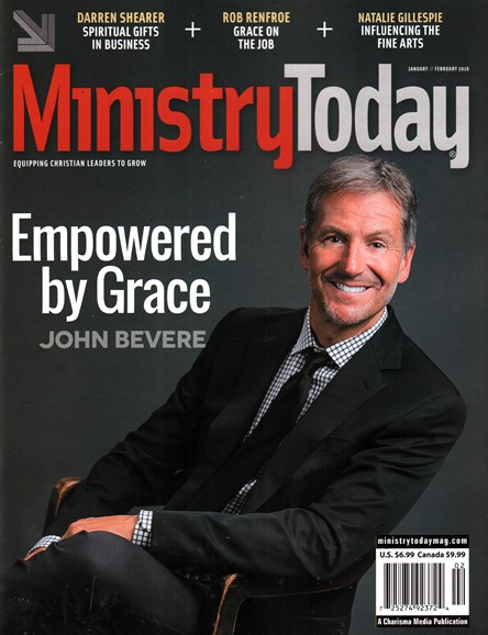 Ministry Today Cover - 1/1/2016