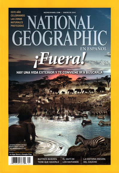 National Geographic En Español Cover - 1/1/2016