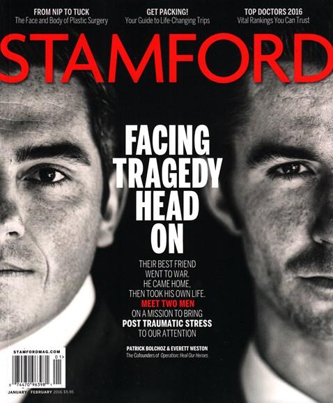 Stamford Magazine Cover - 1/1/2016